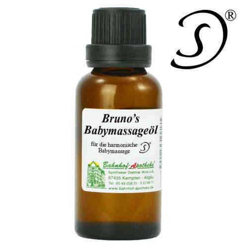 Brunos Babymassageöl 30ml